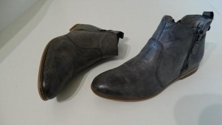 Кожаные ботинки andiamo Италия. Киев. фото 1