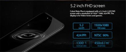 Cubot Note Plus - Приємний, удобний, стильний,  дешевий камерофн, з хорошим екр. Тернополь, Тернопольская область. фото 4