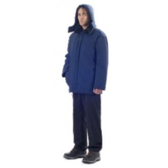 Ватная куртка с капюшоном. Качественная спецодежда. Владимир-Волынский. фото 1