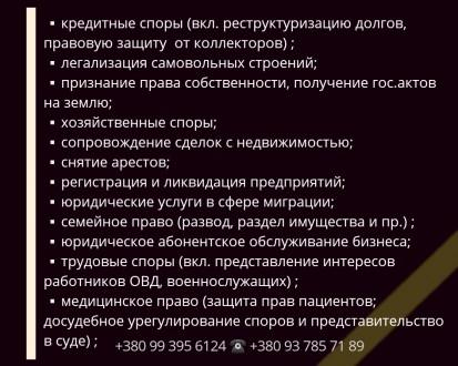 ▪ кредитные споры (вкл. реструктуризацию долгов, правовую защиту от коллекторов). Одесса, Одесская область. фото 3