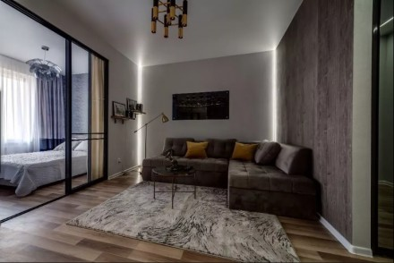 Сдается квартира с современным ремонтом. В квартиру установлена качественная меб. Центр, Днепр, Днепропетровская область. фото 10
