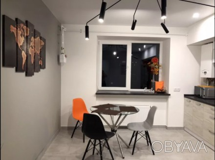 Аренда уютного жилья в ЖК Набережный Квартал. Современная квартира с современны. Победа-2, Днепр, Днепропетровская область. фото 1