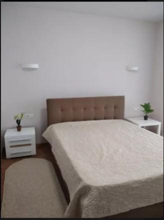 Сдам 1 комнатную квартиру с панорамным остеклением в НОВОМ доме возле Парка Чкал. Центр, Днепр, Днепропетровская область. фото 6