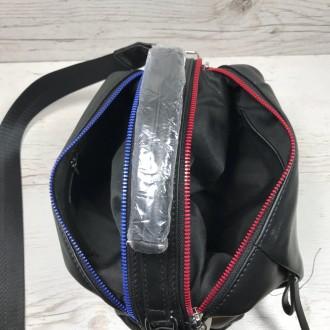 Женская кожаная сумка трансформер (  можно растегнуть по бокам и размер сумки ст. Одесса, Одесская область. фото 8