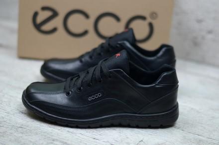 90f7bcf59dfba8 Мужские кожаные кроссовки Ecco Limar. Качество! Супер цена! Распродажа