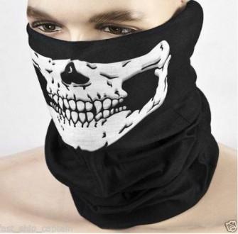 Эластичная маска бафф без швов. Универсальный размер. Защищает шею от ветра. . Ружин, Житомирская область. фото 6
