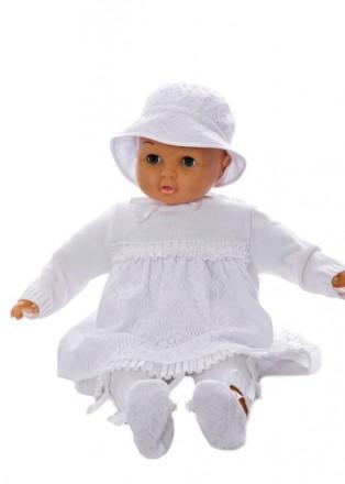 Дайс. Комплект для новонароджених, подарунковий платя,штанці,шапочка. Полтава. фото 1