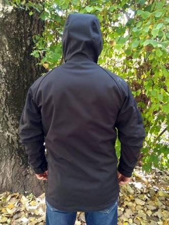 Куртка SoftShell Материал SoftShell 5000H (European Standart) Капюшон не съемн. Сребное, Черниговская область. фото 5