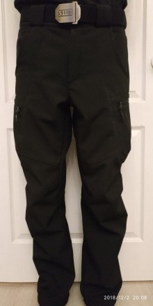Куртка SoftShell Материал SoftShell 5000H (European Standart) Капюшон не съемн. Сребное, Черниговская область. фото 12