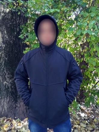 Куртка SoftShell Материал SoftShell 5000H (European Standart) Капюшон не съемн. Сребное, Черниговская область. фото 3