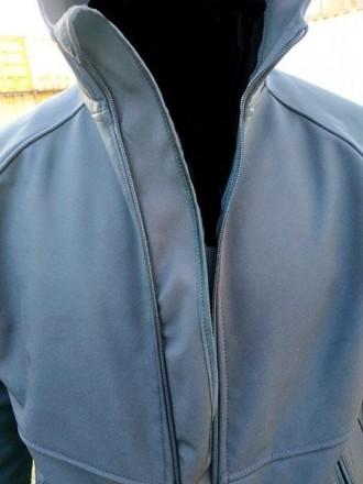 Куртка SoftShell Материал SoftShell 5000H (European Standart) Капюшон не съемн. Сребное, Черниговская область. фото 8