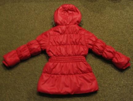 Курточка демисезонная на девочку в отличном состоянии. Длина - 53см, рукав (с м. Чернигов, Черниговская область. фото 3