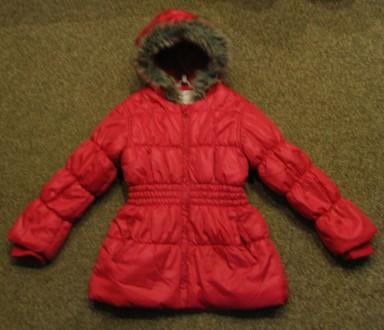 Курточка демисезонная на девочку в отличном состоянии. Длина - 53см, рукав (с м. Чернигов, Черниговская область. фото 2