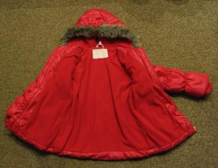 Курточка демисезонная на девочку в отличном состоянии. Длина - 53см, рукав (с м. Чернигов, Черниговская область. фото 4