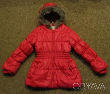 Курточка демисезонная на девочку в отличном состоянии. Длина - 53см, рукав (с м. Чернигов, Черниговская область. фото 1