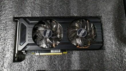Б/у Видеокарта Palit PCI-Ex GeForce GTX 1060 Dual 3GB GDDR5 (192bit). Чернигов. фото 1