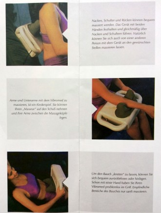 Электрический массажер для тела Vibromed (Германия) отлично снимает напряжение, . Тернополь, Тернопольская область. фото 3