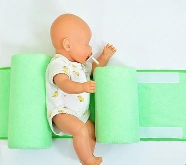 Ортопедическая подушка ограничитель для новорожденных, фиксатор, позиционер. Киев. фото 1