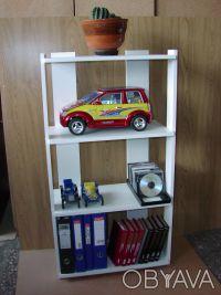 Универсальная этажерка для книг, игрушек, посуды, косметики, обуви, цветов, инве. Киев, Киевская область. фото 3