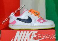Кроссовки детские кожаные Nike Son Of Force оригинал из Италии. Киев. фото 1
