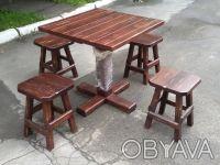 Продам бу столы, стулья для кафе, баров, пабов. Киев. фото 1