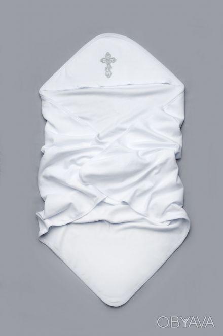"""Можете заказать Крыжму для крещения 100% хлопок на нашем сайте """"ИМДО""""  http://. Киев, Киевская область. фото 1"""