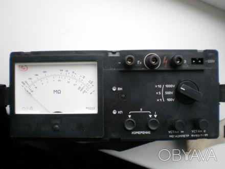 Мегаомметр Ф 4102/1-1М