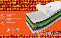 Акция! Матрас Alfa 150x190 Sleep&Fly Organic. Киев. фото 1