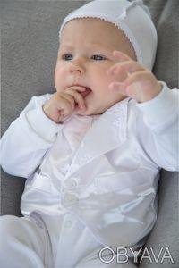 """Можете заказать Комплект крестильный для мальчика """"Джентльмен """" на нашем сайте """". Киев, Киевская область. фото 2"""