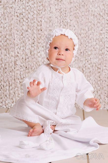 """Можете заказать Купить крестильный набор рубашка для мальчика на нашем сайте """"ИМ. Киев, Киевская область. фото 1"""