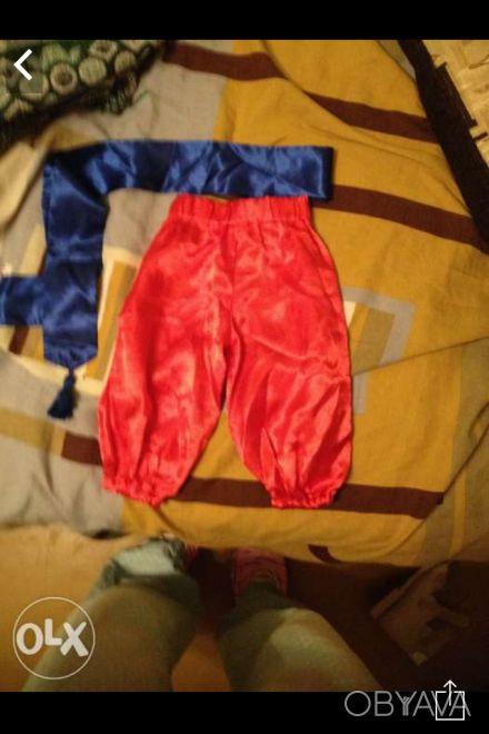 Продам штаны(козацкие шаравары,из украинского народного костюма),на мальчик 9-12. Одеса, Одеська область. фото 1
