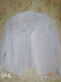 Продам школьный пиджак(р.146) с блузкой(р.128,134) на девочку 10лет.Состояние но. Киев, Киевская область. фото 5