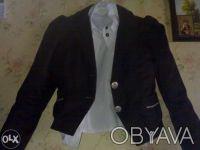Продам школьный пиджак(р.146) с блузкой(р.128,134) на девочку 10лет.Состояние но. Киев, Киевская область. фото 2