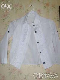 Продам школьный пиджак(р.146) с блузкой(р.128,134) на девочку 10лет.Состояние но. Киев, Киевская область. фото 4