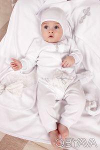 """Можете заказать Крестильный набор для новорожденного из хлопка на нашем сайте """"И. Киев, Киевская область. фото 3"""
