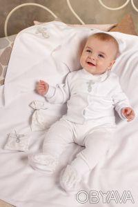 """Можете заказать Крестильный набор для новорожденного из хлопка на нашем сайте """"И. Киев, Киевская область. фото 2"""