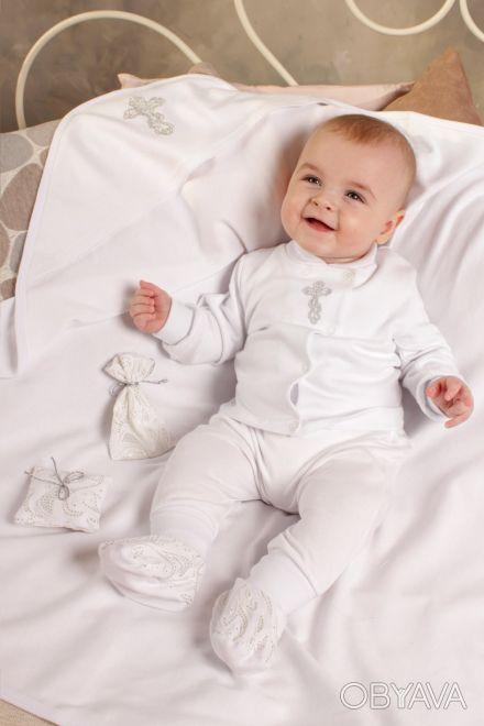 """Можете заказать Крестильный набор для новорожденного из хлопка на нашем сайте """"И. Киев, Киевская область. фото 1"""