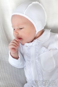 Можете заказать Комплект на выписку для новорожденных белый (для мальчика) на на. Киев, Киевская область. фото 3
