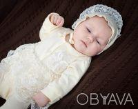 Можете заказать Набор на выписку из роддома для новорожденных молочный (для дево. Киев, Киевская область. фото 2