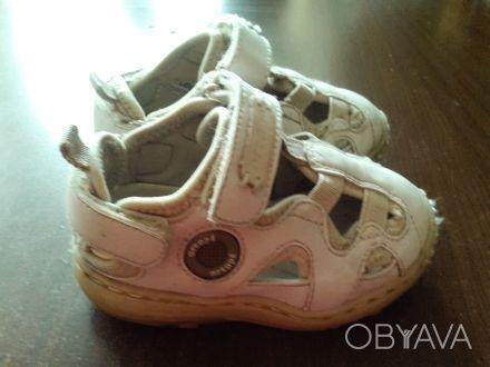 Ортопедические туфли-сандалики фирмы ortope,стелька 14 см,очень удобные,на липуч. Киев, Киевская область. фото 1