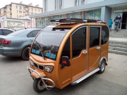 Электрический трицикл. Бар. фото 1