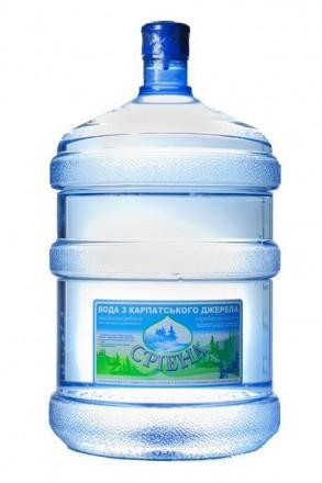 Природна Вода з Карпат Срібна 18,9л. Кривой Рог. фото 1