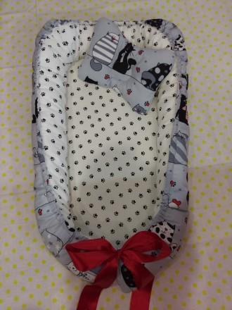 Продам кокон-гнездышко для новорожденных. Днепр. фото 1