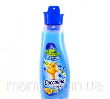 Кондиционер для белья Coccolino Blue Splash, 1 л . Борисполь. фото 1