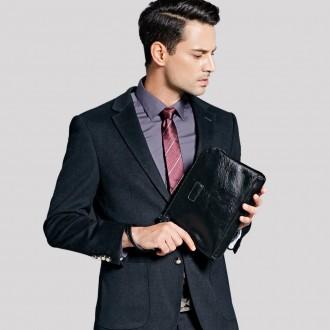 Мужская кожаная барсетка кошелек Polo портмоне клатч гаманець сумка. Николаев. фото 1