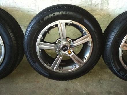 Продам диски Carre с резиной Michelin Energy Saver Plus 195/60 R15 в хорошем сос. Киев, Киевская область. фото 2