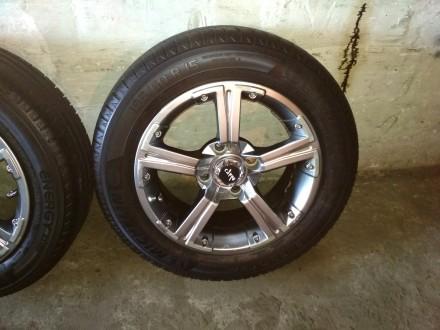 Продам диски Carre с резиной Michelin Energy Saver Plus 195/60 R15 в хорошем сос. Киев, Киевская область. фото 5