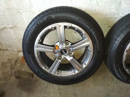 Продам диски Carre с резиной Michelin Energy Saver Plus 195/60 R15 в хорошем сос. Киев, Киевская область. фото 3