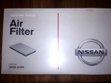 Продам оригинальный воздушный фильтр Nissan.   Каталожный номер - 16546-3J400.. Киев, Киевская область. фото 2