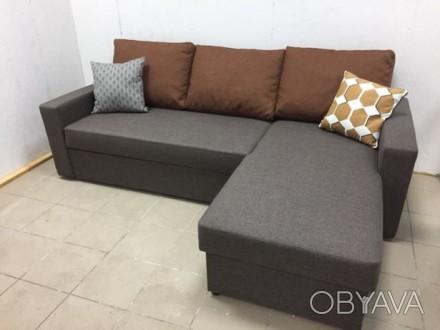 Предлагаем новый угловой диван от производителя.  Основные параметры: длина ди. Чернигов, Черниговская область. фото 1